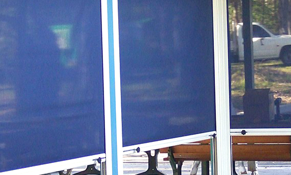 Clear PVC Blinds 2