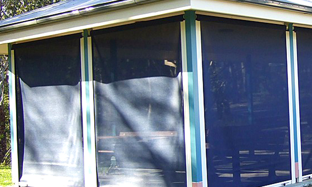 Clear PVC Blinds 4