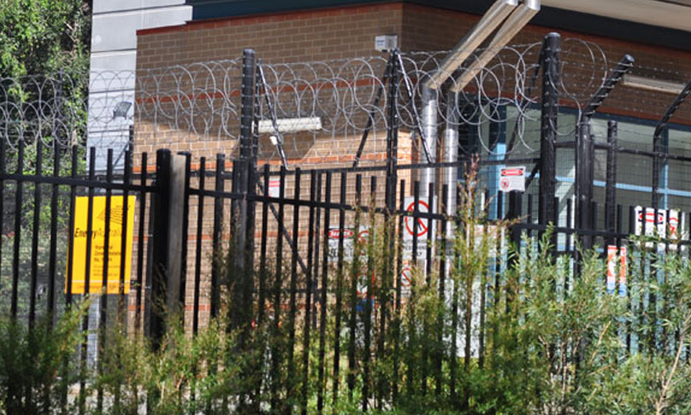 Barbed Wire Fencing 1