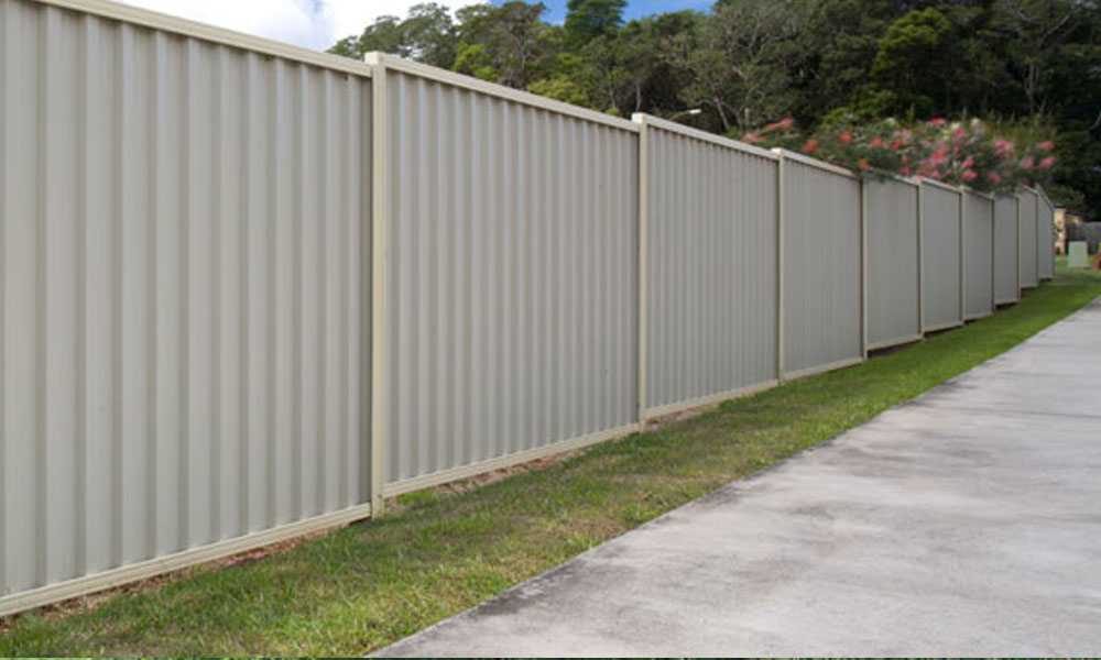 Colorbond Fencing 1