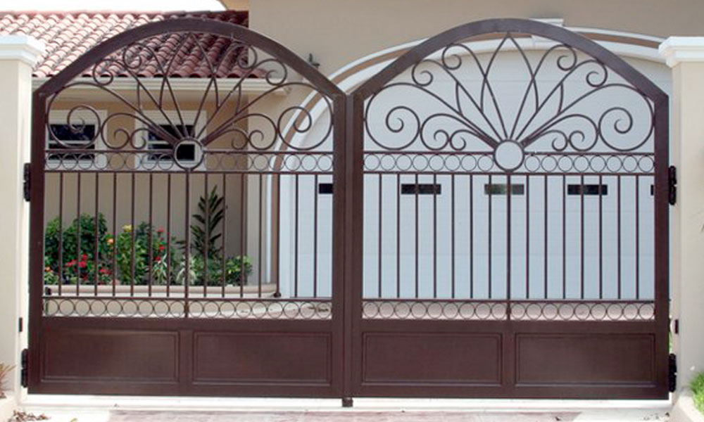 Wrought Iron Fencing 2