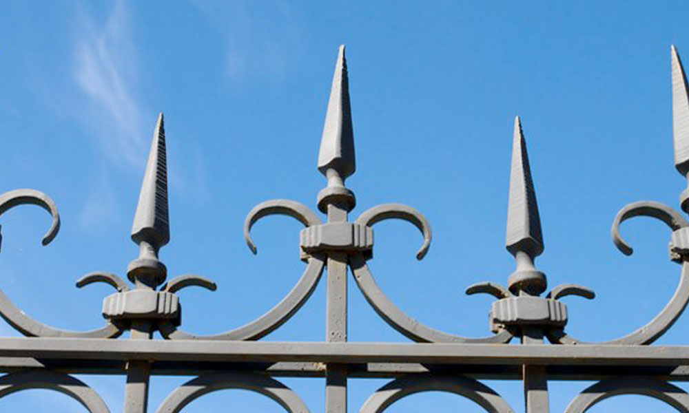 Wrought Iron Fencing 4