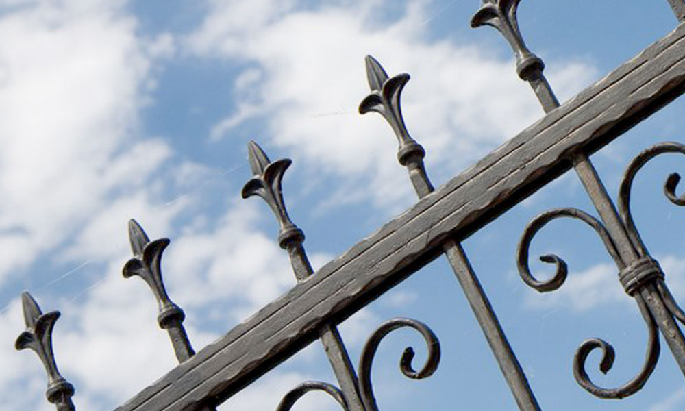 Wrought Iron Fencing 6