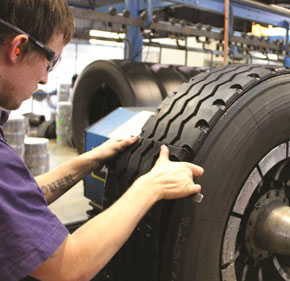 Tyre Repairs, Retreading & Recapping