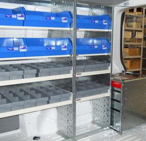 Van Racking Suppliers