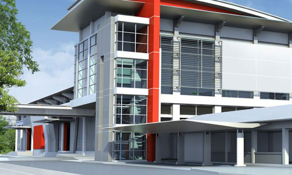 Factory Buildings 1